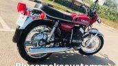 Yamaha Rd350 Restored By Prateek Khanna Right Rear