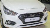 Hyundai Accent At Klims18 Front Grille