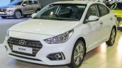 Hyundai Accent At Klims18 Front Quarter