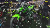 Kawasaki Z400 Green Front Left Quarter At Thai Mot