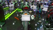 Kawasaki Z400 Green Rear Profile At Thai Motor Sho