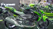 Kawasaki Z400 Green Right Side Profile At Thai Mot