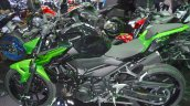 Kawasaki Z400 Green Side Profile At Thai Motor Sho