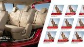 Maruti Ertiga Accessories Brochure Exterior Seat U
