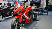 2019 Honda Cbr650r Red Thai Motor Expo Front Left