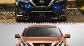 2019 Nissan Murano Vs 2014 Nissan Murano Front