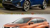 2019 Nissan Murano Vs 2014 Nissan Murano Front Thr