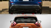 2019 Nissan Murano Vs 2014 Nissan Murano Rear