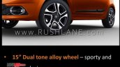 Tata Tiago Xz Brochure Scans 15 Inch Alloy Wheels