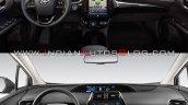 2019 Toyota Prius Vs 2016 Toyota Prius Interior