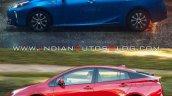 2019 Toyota Prius Vs 2016 Toyota Prius Profile