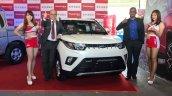 Mahindra Kuv100 Taiwan Launch