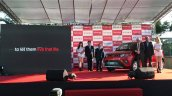 Mahindra Kuv100 Taiwan Launch Front Three Quarters