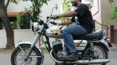 Yezdi Roadking 250 By Vishal Agarwal Left Side Wit