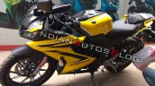 Yamaha R15 V3 0 Customised Yellow Colour Front Lef