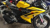 Yamaha R15 V3 0 Customised Yellow Colour Front Rig