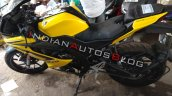 Yamaha R15 V3 0 Customised Yellow Colour Left Side
