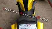 Yamaha R15 V3 0 Customised Yellow Colour Rear Prof