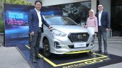 Datsun Go Live Front Three Quarters