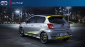 Datsun Go Live Rear Three Quarters