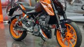 Ktm 125 Duke Front Right Quarter Profile