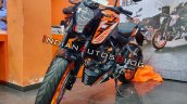Ktm 125 Duke Left Front Quarter