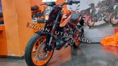 Ktm 125 Duke Left Front Quarter Profile
