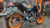 Ktm 125 Duke Rear Right Quarter Profile