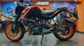 Ktm 125 Duke Side Left Profile