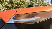 Tata Harrier Test Drive Review D Pillar Chrome Gar
