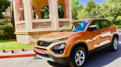 Tata Harrier Test Drive Review Front Three Quarter