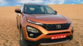 Tata Harrier Test Drive Review Front Three Quaters