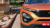 Tata Harrier Test Drive Review Image Front Half 1