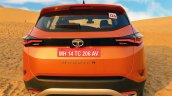 Tata Harrier Test Drive Review Rear 2