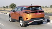 Tata Harrier Test Drive Review Rear Three Quarters