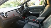 Nissan Kicks Interiors Dashboard And Front Seats