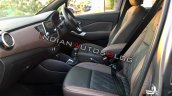 Nissan Kicks Interiors Front Seats