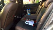 Nissan Kicks Interiors Rear Seats