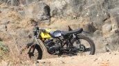 Yamaha Rx100 Scrambler Modified Left Side Profile