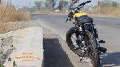 Yamaha Rx100 Scrambler Modified Rear Profile