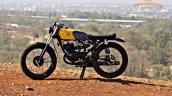 Yamaha Rx100 Scrambler Modified Side Profile