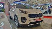 Kia Sportage Autocar Performance Show Images Front