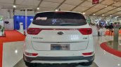 Kia Sportage Autocar Performance Show Images Rear