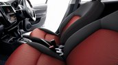 Mitsubishi Mirage Black Edition Front Seats
