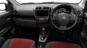 Mitsubishi Mirage Black Edition Interior