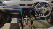 Skoda Superb Sportline Dashboard At Aps 2018