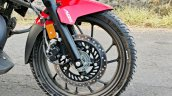 Hero Xtreme 200r Road Test Review Front Wheel