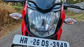 Hero Xtreme 200r Road Test Review Headlight Close