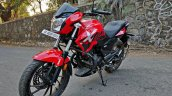 Hero Xtreme 200r Road Test Review Left Front Quart
