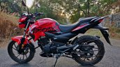 Hero Xtreme 200r Road Test Review Left Side